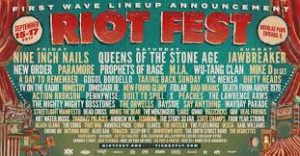 Riot fest image featuring nine inch nails at riot fest 2017